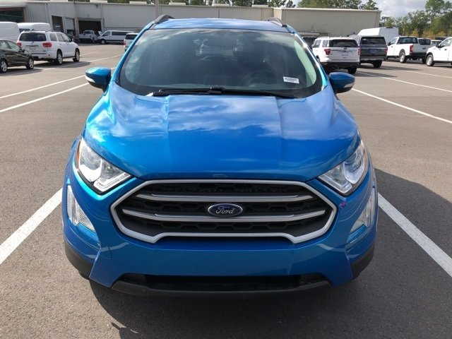 2018 Ford EcoSport SE SUV EcoBoost 1.0L I3 GTDi DOHC Turbocharged VCT Engine 4 Door