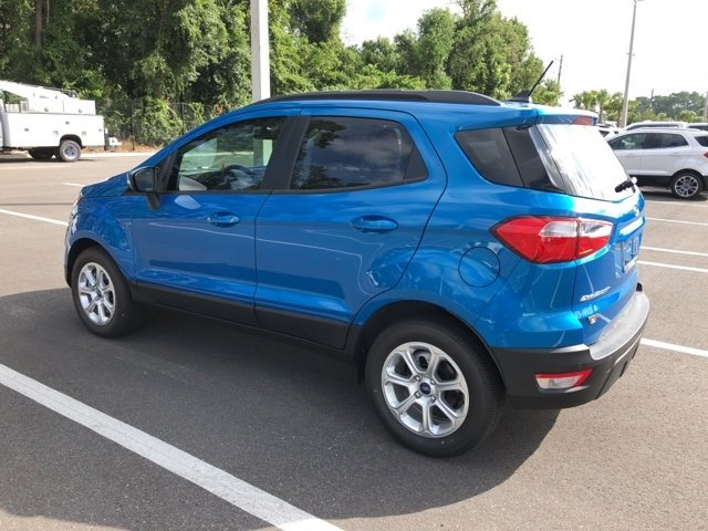 2018 Ford EcoSport SE EcoBoost 1.0L I3 GTDi DOHC Turbocharged VCT Engine 4 Door FWD
