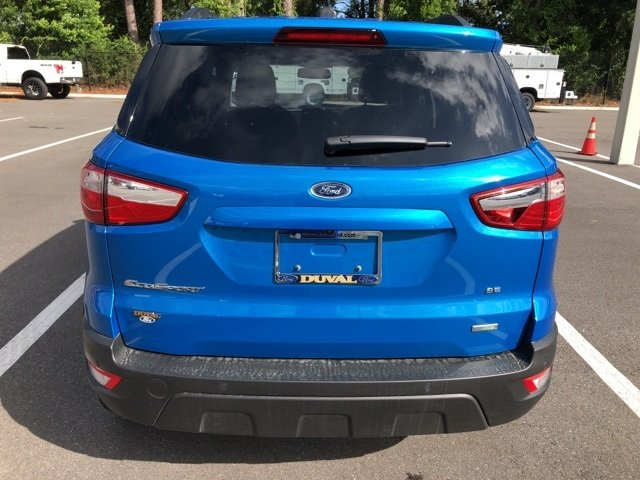2018 Blue Candy Metallic Tinted Clearcoat Ford EcoSport SE FWD SUV Automatic