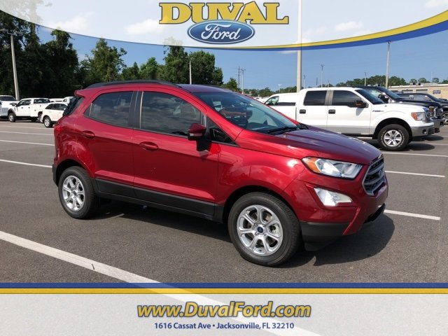 2018 Ford EcoSport SE SUV FWD EcoBoost 1.0L I3 GTDi DOHC Turbocharged VCT Engine Automatic 4 Door