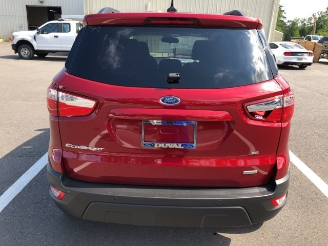 2018 Ford EcoSport SE FWD 4 Door Automatic EcoBoost 1.0L I3 GTDi DOHC Turbocharged VCT Engine