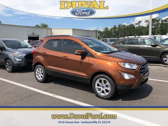 2018 Canyon Ridge Metallic Ford EcoSport SE FWD SUV Automatic