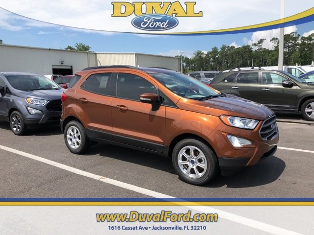 2018 Ford EcoSport SE FWD EcoBoost 1.0L I3 GTDi DOHC Turbocharged VCT Engine SUV Automatic 4 Door