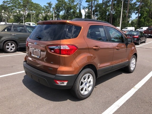 2018 Ford EcoSport SE SUV Automatic EcoBoost 1.0L I3 GTDi DOHC Turbocharged VCT Engine