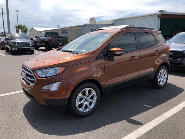 2018 Canyon Ridge Metallic Ford EcoSport SE FWD EcoBoost 1.0L I3 GTDi DOHC Turbocharged VCT Engine 4 Door SUV Automatic