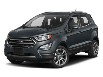 2018 Smoke Metallic Ford EcoSport SE FWD EcoBoost 1.0L I3 GTDi DOHC Turbocharged VCT Engine Automatic 4 Door SUV
