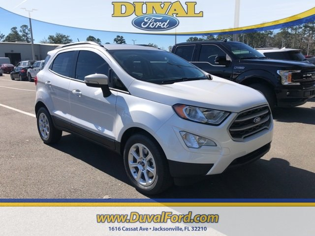 2019 Ford EcoSport SE 4 Door Automatic FWD