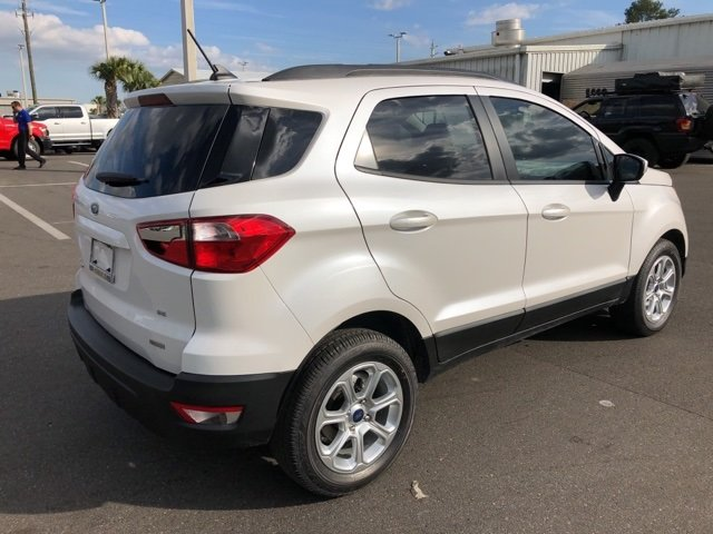 2019 Ford EcoSport SE 4 Door EcoBoost 1.0L I3 GTDi DOHC Turbocharged VCT Engine FWD
