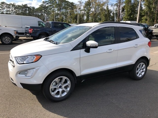2019 Ford EcoSport SE EcoBoost 1.0L I3 GTDi DOHC Turbocharged VCT Engine 4 Door FWD Automatic SUV