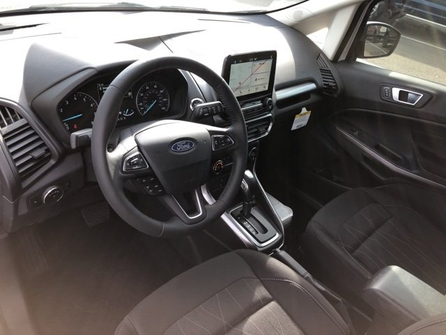 2019 Ford EcoSport SE EcoBoost 1.0L I3 GTDi DOHC Turbocharged VCT Engine Automatic FWD