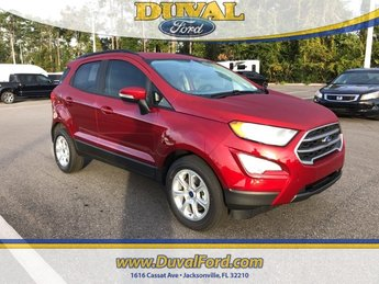 2019 Ford EcoSport SE Automatic 4 Door FWD SUV EcoBoost 1.0L I3 GTDi DOHC Turbocharged VCT Engine
