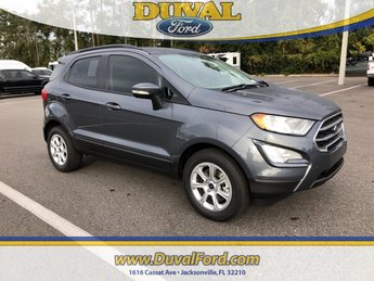 2019 Ford EcoSport SE 4 Door EcoBoost 1.0L I3 GTDi DOHC Turbocharged VCT Engine Automatic FWD