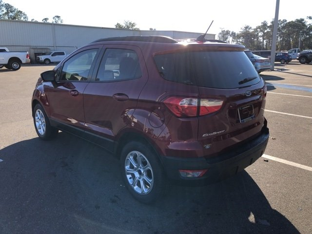 2019 Ford EcoSport SE Automatic SUV EcoBoost 1.0L I3 GTDi DOHC Turbocharged VCT Engine