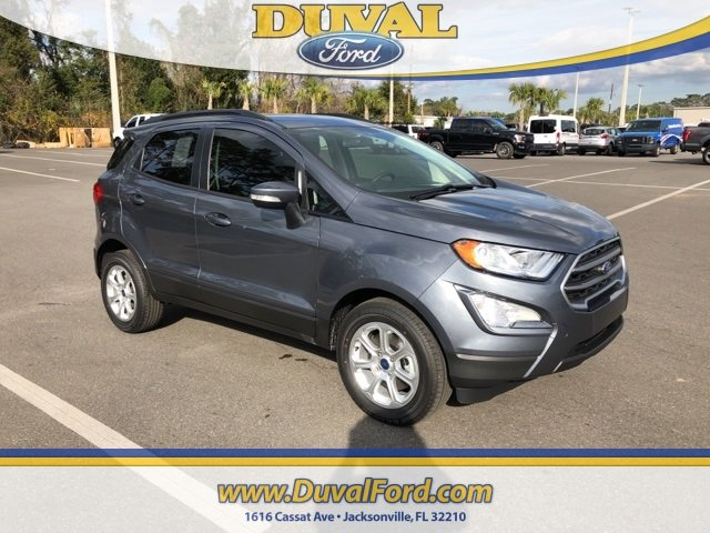 2019 Ford EcoSport SE EcoBoost 1.0L I3 GTDi DOHC Turbocharged VCT Engine Automatic 4 Door SUV FWD