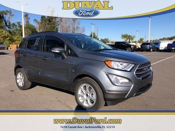 2019 Smoke Metallic Ford EcoSport SE Automatic EcoBoost 1.0L I3 GTDi DOHC Turbocharged VCT Engine SUV 4 Door