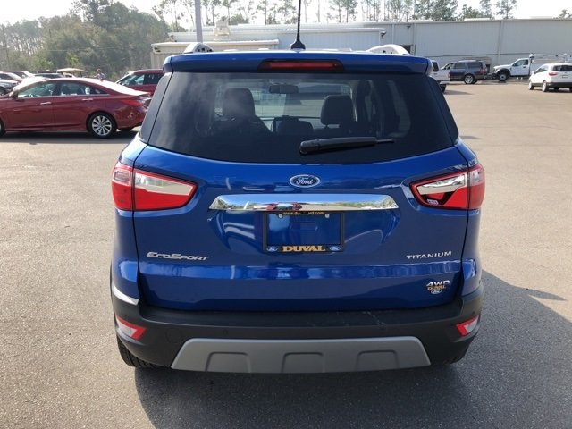 2018 Ford EcoSport Titanium I4 Engine SUV Automatic 4 Door 4X4