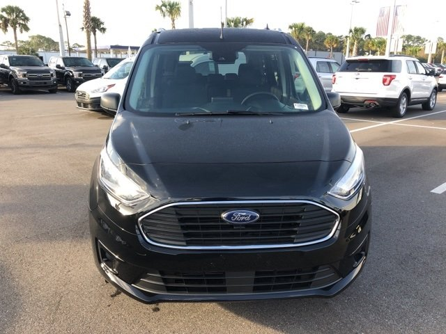 2019 Shadow Black Ford Transit Connect XLT 4 Door Van FWD Automatic