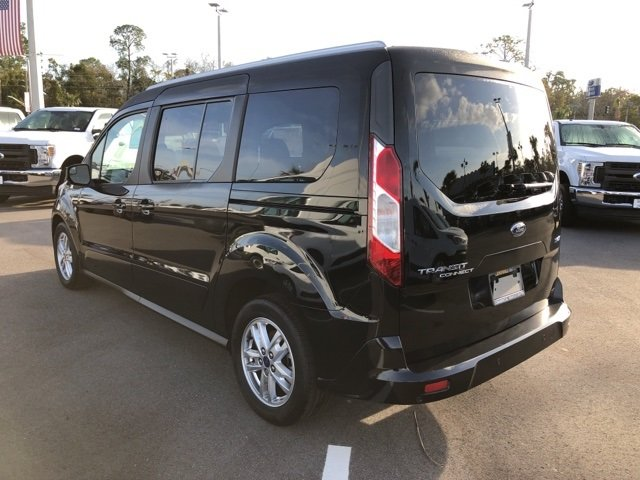 2019 Shadow Black Ford Transit Connect XLT Automatic Van I4 Engine