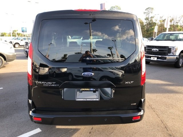 2019 Shadow Black Ford Transit Connect XLT FWD I4 Engine Van 4 Door Automatic