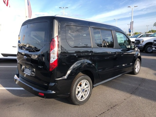 2019 Shadow Black Ford Transit Connect XLT I4 Engine Van FWD Automatic