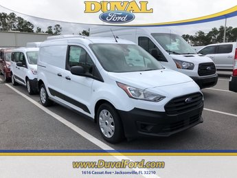 2019 Frozen White Ford Transit Connect XL Automatic Van 4 Door