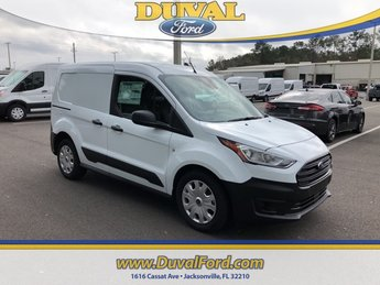 2019 Frozen White Ford Transit Connect XL I4 Engine Automatic FWD