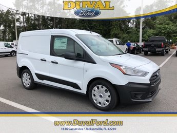 2019 Frozen White Ford Transit Connect XL Automatic Van I4 Engine 4 Door FWD