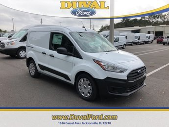 2019 Frozen White Ford Transit Connect XL Automatic Van FWD I4 Engine