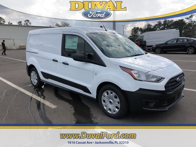 2019 Frozen White Ford Transit Connect XL 4 Door FWD Van Automatic I4 Engine