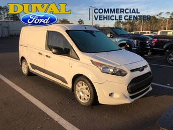 2015 Frozen White Ford Transit Connect XLT FWD 4 Door Automatic