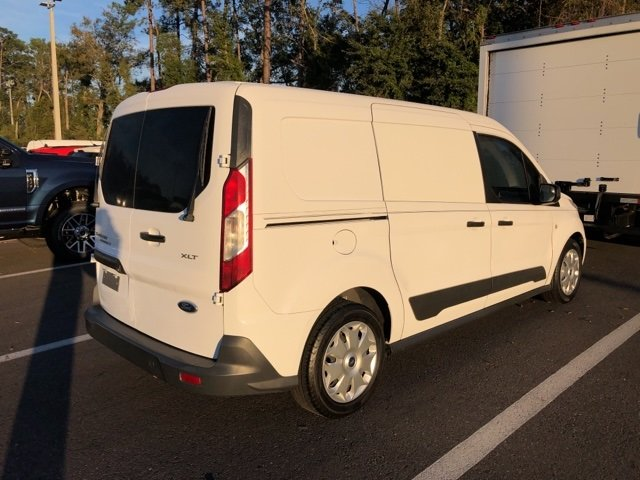 2015 Frozen White Ford Transit Connect XLT 4 Door Automatic Duratec 2.5L I4 Engine Van FWD