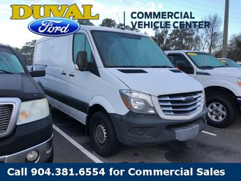 2014 Arctic White Freightliner Sprinter 2500 Base 3 Door Automatic Van RWD