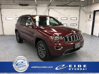 2019 Velvet Red Pearlcoat Jeep Grand Cherokee Limited 4X4 3.6L V6 24V VVT Engine Automatic SUV 4 Door