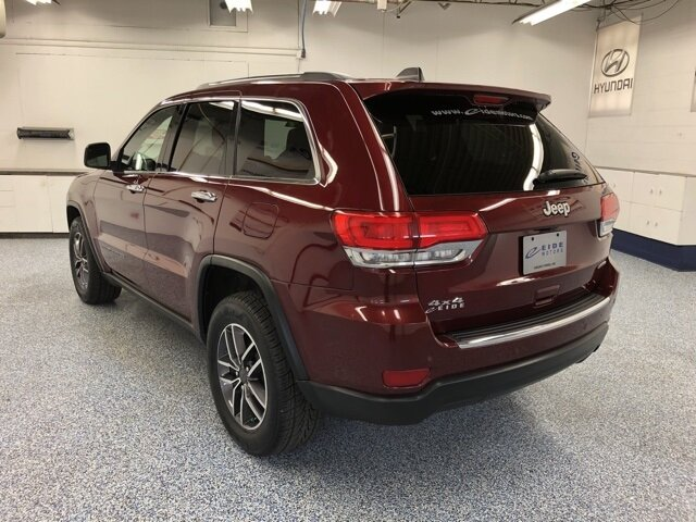 2019 Velvet Red Pearlcoat Jeep Grand Cherokee Limited 4X4 3.6L V6 24V VVT Engine 4 Door SUV