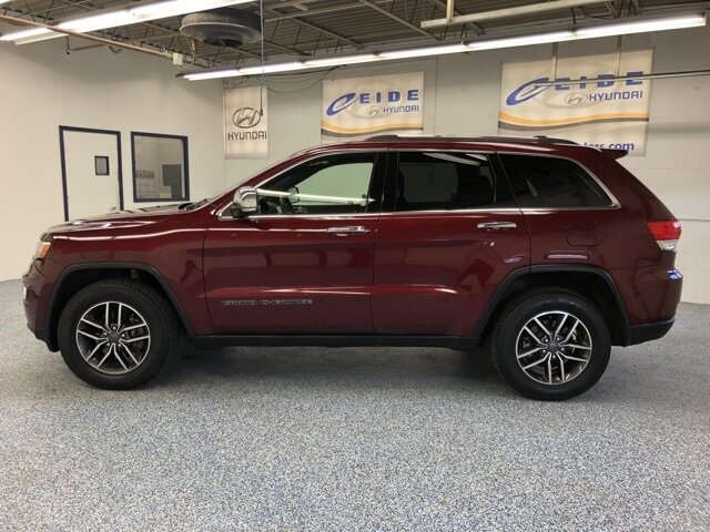 2019 Jeep Grand Cherokee Limited 3.6L V6 24V VVT Engine 4 Door SUV 4X4