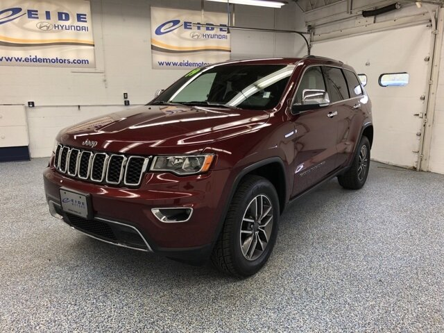 2019 Jeep Grand Cherokee Limited Automatic 4 Door 3.6L V6 24V VVT Engine SUV 4X4