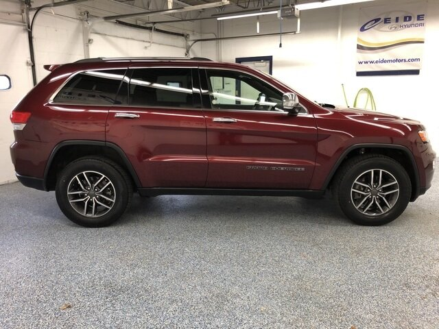 2019 Jeep Grand Cherokee Limited 4 Door SUV 3.6L V6 24V VVT Engine 4X4 Automatic