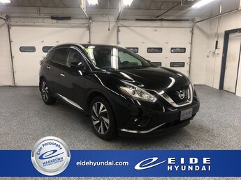 2017 Magnetic Black Metallic Nissan Murano Platinum 4 Door SUV AWD 3.5L V6 Engine