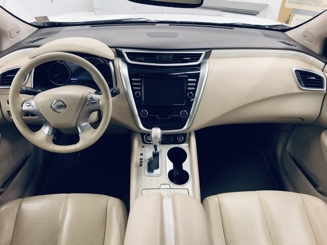 2017 Pearl White Nissan Murano SL AWD SUV 4 Door 3.5L V6 Engine Automatic (CVT)