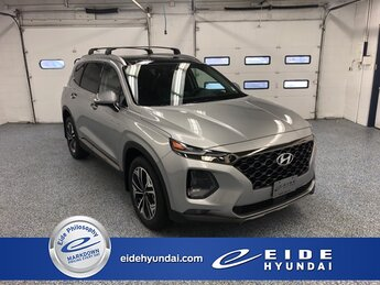 2020 Shimmering Silver Pearl Hyundai Santa Fe Limited 2.0T 2.0L Turbocharged Engine 4 Door AWD SUV