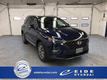 2020 Stormy Sea Hyundai Santa Fe Limited 2.4 AWD 2.4L I4 DGI DOHC 16V LEV3-ULEV70 185hp Engine Automatic 4 Door