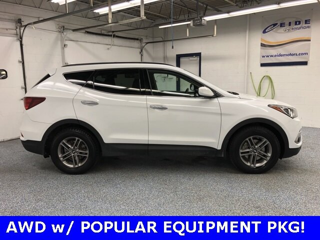 2017 Hyundai Santa Fe Sport 2.4 Base Automatic 4 Door 2.4L I4 DGI DOHC 16V Engine AWD SUV