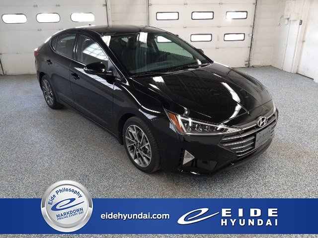 2020 Phantom Black Hyundai Elantra Limited 2.0L 4-Cylinder DOHC 16V Engine Automatic 4 Door