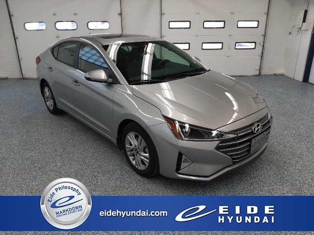 2020 Stellar Silver Hyundai Elantra Value Edition 4 Door Automatic FWD Sedan 2.0L 4-Cylinder DOHC 16V Engine