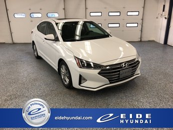 2020 Quartz White Pearl Hyundai Elantra Value Edition Automatic 4 Door 2.0L 4-Cylinder DOHC 16V Engine FWD Sedan