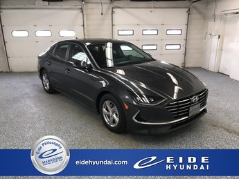 2020 Portofino Gray Hyundai Sonata SE FWD Sedan Automatic 4 Door I4 Engine