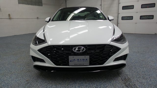 2020 Quartz White Hyundai Sonata Limited 4 Door FWD Sedan Automatic