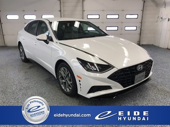 2020 Quartz White Hyundai Sonata SEL Automatic 4 Door 2.5L I4 Engine Sedan FWD
