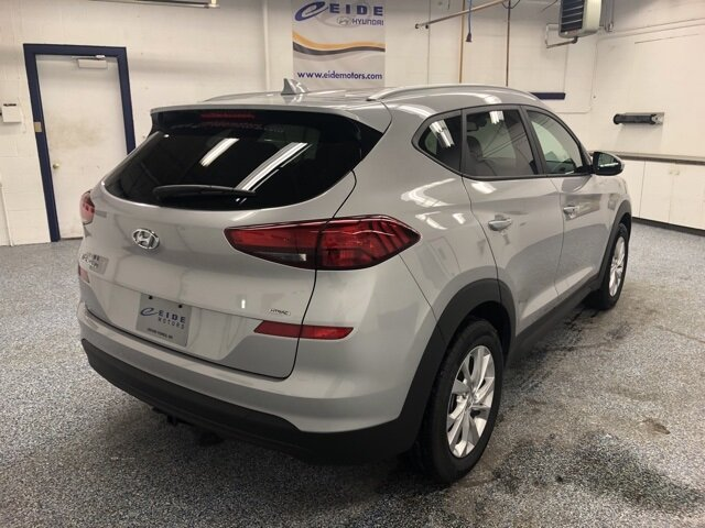 2020 Stellar Silver Hyundai Tucson Value SUV I4 Engine 4 Door