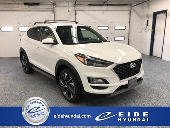2021 Winter White Hyundai Tucson Sport SUV AWD 4 Door Automatic